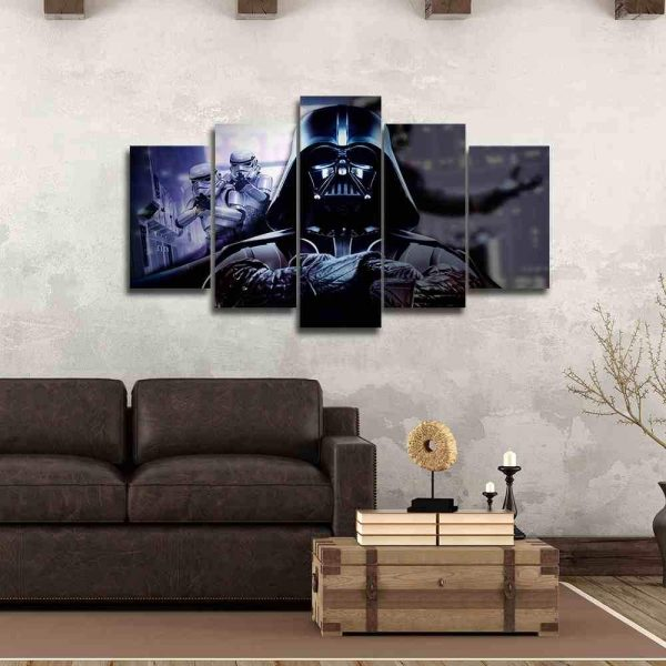 Darth Vader Canvas Prints