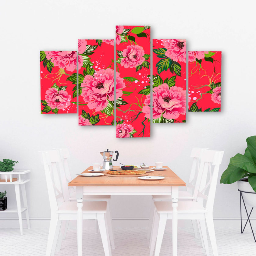 Big-Red-Peony-pattern-canvas-print