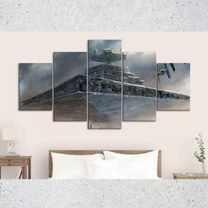 Impressionism of Star Destroyer