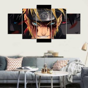 Naruto Anime on Canvas