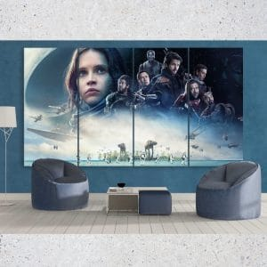 Star Wars Rogue One 4 Panel