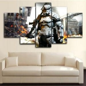 Star Wars StormTrooper Ready to Fight 5 panel