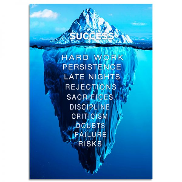 1-Panel-Success-Quote-Canvas-Wall-Art