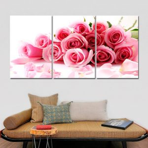 Pink Roses Canvas