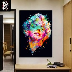 1 Panel Marilyn Monroe Pop Canvas Art