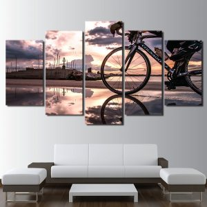 5 Panel Bicycling on Sunshine
