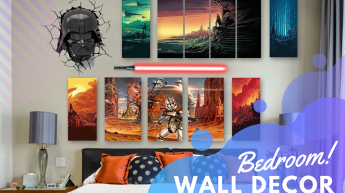 6 Fantastic Ideas for Your Own Bedroom Gallery Wall