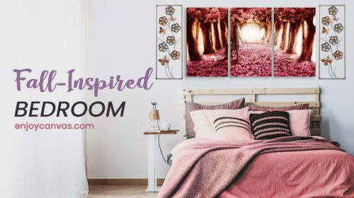A Glimpse of a Fall-Inspired Bedroom Decorating Ideas 2019