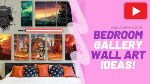 Creative Ideas for a Bedroom Gallery Wall
