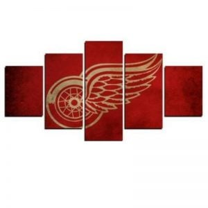 Detroit Red Wings NHL Team (Gold)