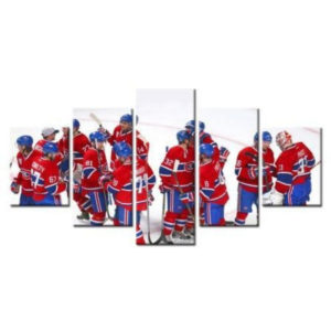 Montreal Canadians Professional Ice Hockey Team Members