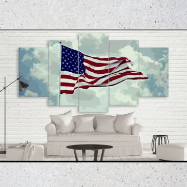USA Flag Artwork